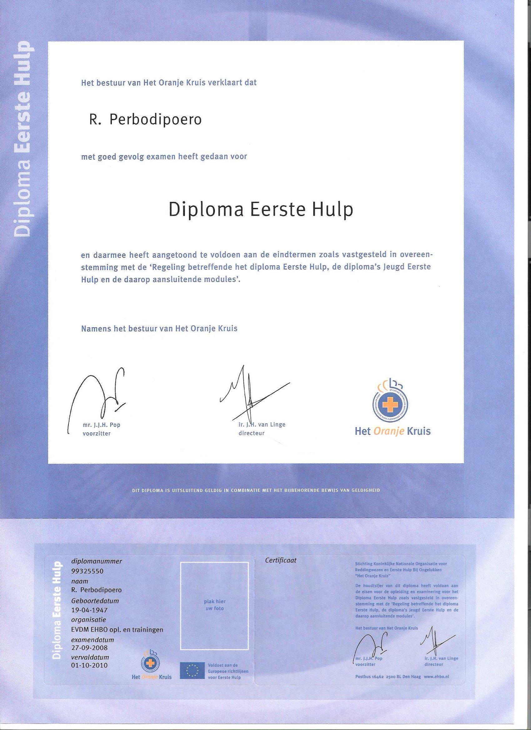 diploma_ehbo